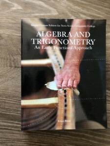Algebra and Triginometry - An Early Functions Approach