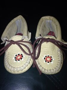 Size 1 baby moccasins