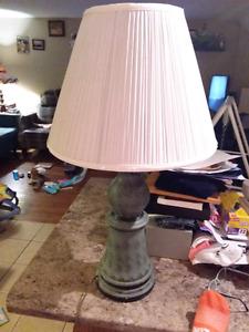 Gray base lamp