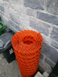 Full roll of temporally fencing