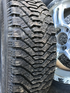 215/65/16 Nordic Winter tires like NEW