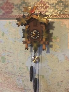 Antique cuckoo clock made in Germany Wall clock only $100