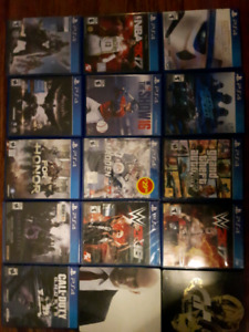 Huge ps4 game lot