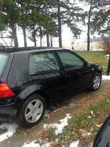 2001 Volkswagen Golf Gl London Ontario image 2
