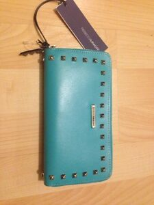 Rebecca Minkoff turquoise wallet