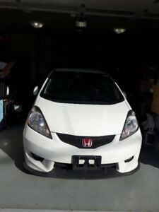 2009 Honda Fit Sport Sedan Low KM