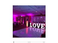LED dance floor 12x12ft £3,500