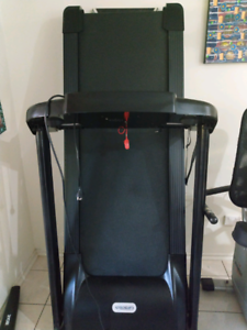 Treadmill and exercise bike