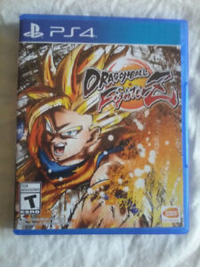 For Sale: DragonBall Fighter Z Ps4