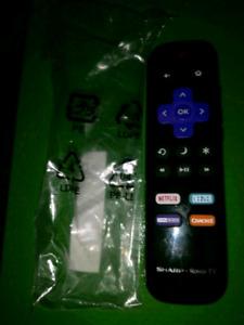 ROKU TV REMOTE SHARP HISENSE ETC