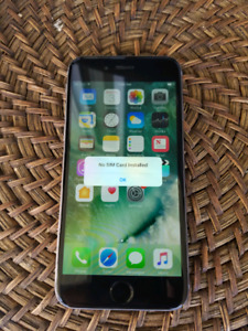 iPhone 6 16gb Gray Bill virgin mint condition