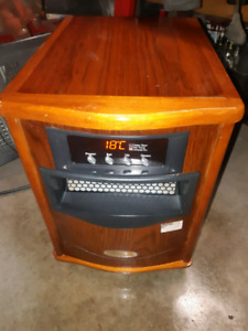 Infrared heater 1500w performs quietly