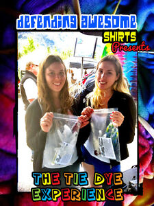 Canmore Folkfest - Tie Dye Experience by Defending Awesome Shirt
