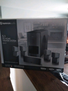 NEW !! Kamron Audio KA-9 5.1 HD/ Home Theater Surround Sound Sys