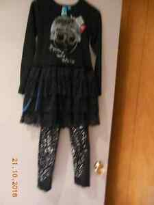 Robe et pantalons BLU pour fille/Dress and tights BLU for girl