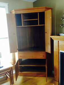 Teak Entertainment Unit- REDUCED!!!!