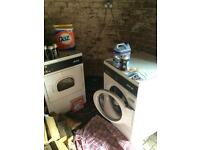 Commercial washer and dryer as new - cost over £4500