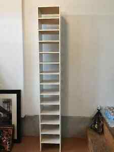 White Shoe Rack / Shelving