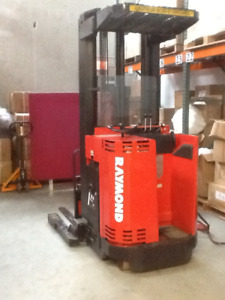 RAYMOND DOUBLE REACH FORKLIFT for Sale!