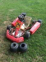 Birel go cart.
