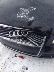 2006 Audi A4 2.0 sedan require front bumper and right fender