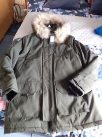Mens Newlook Coat Large