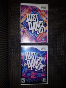 *WII JUST DANCE GAMES*