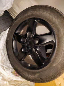 Porsche Mags + Nokian tires + TPMS ensors 255/55/18