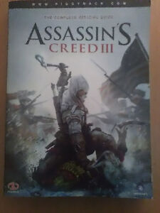 """Assassin's Creed III """"THE COMPLETE OFFICIAL GUIDE"""""""
