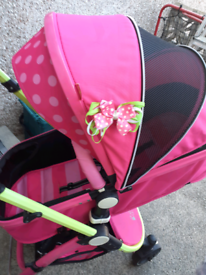 Isafety system pushchair