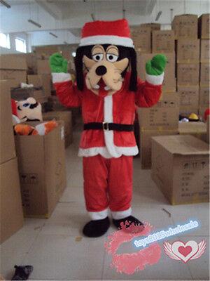 Goofy Dog Mascot Costume cartoon Christmas Dress Cosplay party game dress Adults
