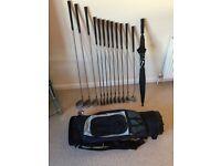 Golf Clubs - All Dunlop - Good Starter Kit Including Bag