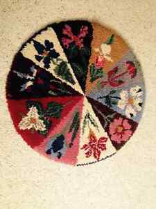 Hooked Wall Hanging or Rug