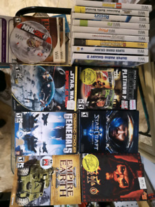 Asst Nintendo Wii and PC games