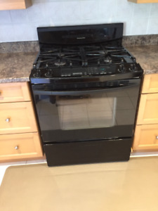 "30"" gas range/convection oven kitchen aid superba"
