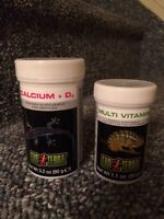 Reptile Calcium and Multi Vitamins