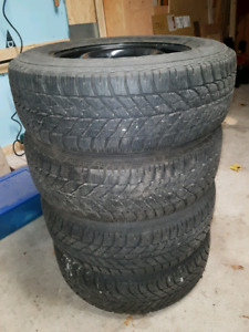Winter tires wheels dodge caravan 16""