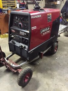 Lincoln 305G welder with cables