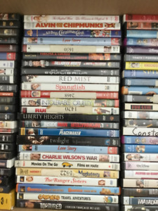 125 + Lot of DVD's