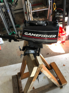 3 HP Gamefisher Outboard Motor