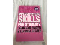 PRESENTATION SKILLS FOR STUDENTS - JOAN VAN EMDEN