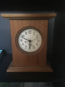 Wooden Country Clock