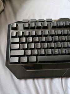 Devastator LED illuminated keyboard (Blue) by Cooler Master