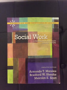 social work textbook - brand new condition