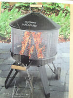 """NEW IN BOX Landmann 20"""" Outdoor Fireplace & Cooking Grill"""