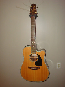 Takamine G Series Electric Acoustic. Model # EG360SC