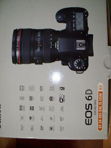 Canon EOS 6D digital CAMERA with lens Stratford Kitchener Area image 2
