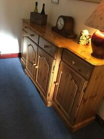 Ducal Victoria Antique finish, Solid Pine Sideboard
