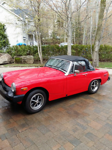 British Car MG Midget 1977 For Sale in Prevost, Quebec