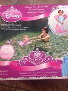 Apprendre nager avec disney